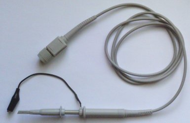 Sonde de tension pour oscilloscope