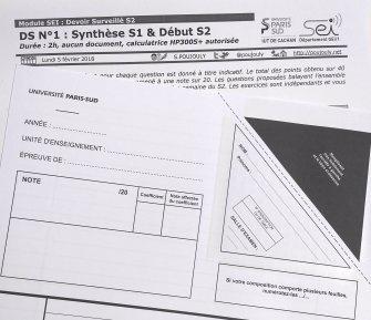 [S2 2018] Programme du DS SEI N°1