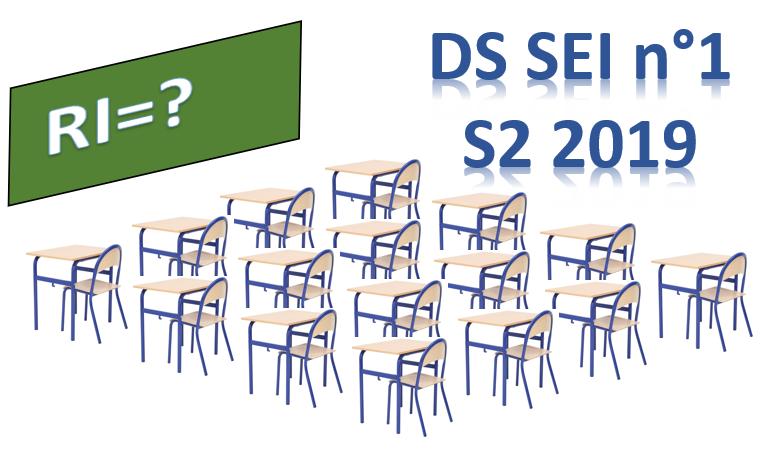 [S2 2019] Programme du DS SEI n°1