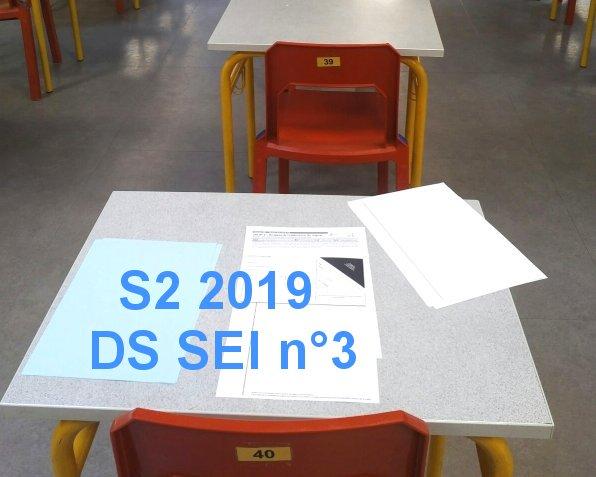 [S2 2019] Programme du DS SEI n°3
